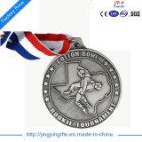 2017 ori più poco costosi di campionato di alta qualità su ordinazione/medaglie Bronze d'argento di sport con il nastro