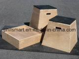 Casella di legno di Plyo di salto di Plyometric di addestramento di Crossfit