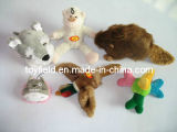 장난감 개 견면 벨벳 동물 공급 제품 애완 동물 장난감