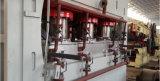 목제 작동 멜라민 MDF 최신 압박 기계장치 두 배 측 MDF 짧은 주기 압박 선