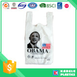 Sacchetto di plastica della maglietta di prezzi di fornitore per acquisto
