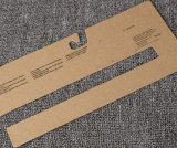 Kundenspezifische Packpapier-Karte Brown-