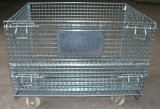 StorageのためのFoldable Wire Mesh Metal Cage