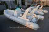 섬유유리 Boat, Outboard Motor Boat, 세륨 Cert.를 가진 Luxury Rib Boat Hypalon Speed Boat /Yacht Rib730b 중국제