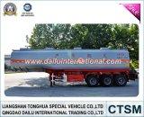SGS ISO CCC Verklaarde Aanhangwagen van de Tanker van de Benzine van het Koolstofstaal (Brandstof)