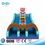 Riesiges preiswertes aufblasbares springendes Schloss für Kinder 027