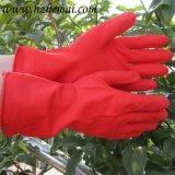 Haushalts-Latex-Handschuh-Teller-waschender Gummiküche-Arbeits-Handschuh