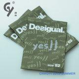 Het Screen-Printing van de Douane in het bijzonder Etiket in Kledingstuk en Bagage wordt gebruikt die