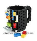 Taza de café del bloque hueco de DIY Lego