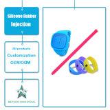 Stampaggio ad iniezione promozionale personalizzato del silicone della cinghia del cinturino del braccialetto del silicone dei regali dei prodotti della gomma di silicone