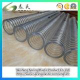Manguito hidráulico reforzado plástico del tubo del tubo de la industria del jardín del agua del manguito del alambre de acero del PVC