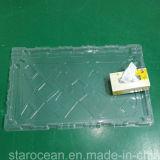 Plateau en plastique transparent de Vide-Thermoform surdimensionné