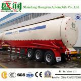 Del polvo nuevo del tanque del transporte a granel material del cemento del carro acoplado semi