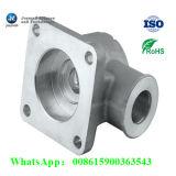 Kundenspezifischer Aluminiumlegierung-Sand-Gussteil-Rohr-Gefäß-Krümmer