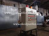 Planta de la regeneración del aceite inútil, máquina negra de la destilación del aceite