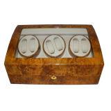 Bobinier automatique de montre de moteur en bois de Mabuchi de 6+7 noeuds