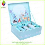 Покрашенная коробка лосьона косметическая с печатание цветка