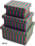 Rosa gedruckter Butike-Geschenk-Kasten mit Beutel