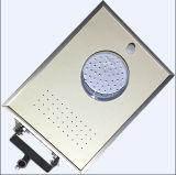 Jardim portátil Street Light do diodo emissor de luz de 5W Integrated Solar com Pólo