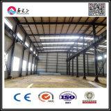 Taller prefabricado rápido/almacén de la estructura de acero que ensambla