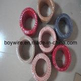 2つのコンダクターのツイストワイヤー、編みこみのケーブル、織物ワイヤー(UL、VDE、SAA)