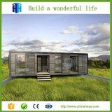 Casa pré-fabricada personalizada do recipiente da construção de aço para a venda