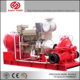 De diesel Pomp van het Water met Hoge druk door de Dieselmotor van Cummins