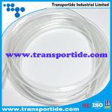 Boyau transparent de PVC de qualité de la Chine