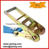 """Trinquete de alineación / correa con extensiones W / Chain 4 """"X 27'yellow"""