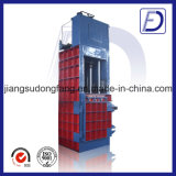 Vertical Waste Paper Cotton Plastic Straw Baling Machine