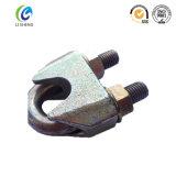 Galvanizado alambre de acero presillas de cable de DIN1142