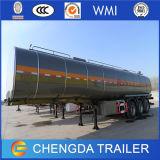 Reboque dobro do tanque de petróleo dos eixos Cimc