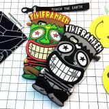 Tampa original da caixa do telefone de pilha do silicone do palhaço dos desenhos animados para o iPhone dos doces de Hong Kong 7 Plus/7 (XSR-044)