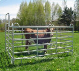 Faible prix Factory Galvanisé 5 Bar Steel Cattle Gate Fence