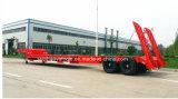 2 Aanhangwagen van de Vrachtwagen van het Bed van de as de Verlengbare Lage Semi met het Gewicht 10000kgs van de Tarra