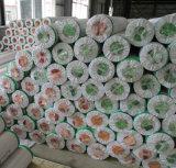 롤에 있는 최고 급료 펠트 역행 PVC 마루