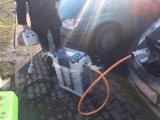 Bewegliche 20kw EV Repid Aufladeeinheit 7kw-100kw der Ladestation-Chademo/CCS Setec schnell