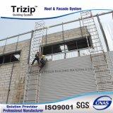 Feuille de mur trapézoïdale en métal pour la construction