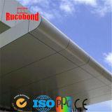Painel composto de alumínio justo PVDF ACP do cantão de Guangzhou (RCB130511)