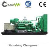 電気またはガスモーターは生成する性質のガスエンジンガソリン発電機セット(500kw)を