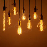 Lámpara del Bulbo-Halógeno de la luz del filamento del bulbo de Edison de la vendimia
