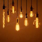 Weinleseedison-Birnen E27 40With60W weißglühende Lampen-Retro Heizfaden-Glühlampe Wechselstrom-220V