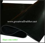 Лист Hypalon резиновый, резиновый крен циновки, черная резиновый циновка