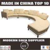 Luxe Mitte- des Jahrhundertsmodernistisches gebogenes Sofa Lz189
