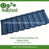 Azulejo de material para techos revestido de piedra del metal (tipo HL1103 de la ondulación)