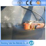 1mm Teich-Zwischenlage HDPE Geomembrane Zwischenlage-Schwarzes, weiße wasserdichte Verdammungs-Zwischenlage/Aufschüttung-Zwischenlage