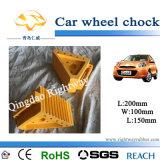 Cale en caoutchouc jaune de roue pour la voiture (RW846Y)