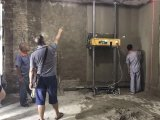 آليّة الإنسان الآليّ جدار يجصّص/جدار أداء بناء آلة
