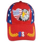 Краснокалильная бейсбольная кепка сбывания с славным логосом Bbnw49 орла