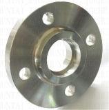 Flange de alumínio da garganta da soldadura da alta qualidade do OEM do CNC